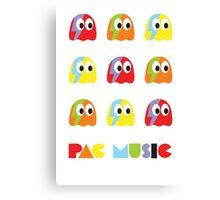 Pac Music Canvas Print
