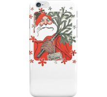 Christmas Pudding (Kerstpudding) Holiday Greeting iPhone Case/Skin
