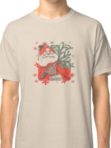 Christmas Pudding (Kerstpudding) Holiday Greeting Classic T-Shirt