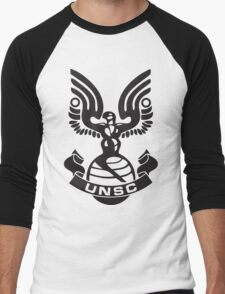 UNSC Logo Men's Baseball ¾ T-Shirt