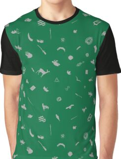 Emerald and Silver Graphic T-Shirt