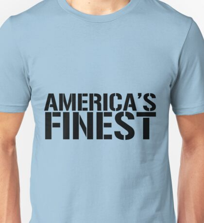 America's Finest, Marines, Army, Navy, Air Force, Coast Guard Unisex T-Shirt