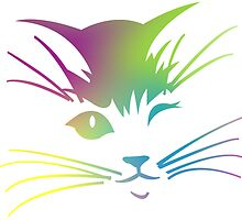 The Rainbow Cat by alexandralegs11