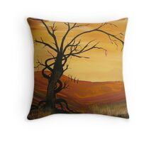 SLEEPY HOLLOW SURREAL  LANDSCAPE Throw Pillow