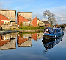 Reflections on the Lancaster Canal by Gary Kenyon