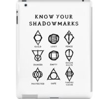 Know Your Shadowmarks (Dark) iPad Case/Skin