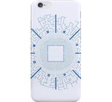 Maze Runner Blueprints iPhone Case/Skin