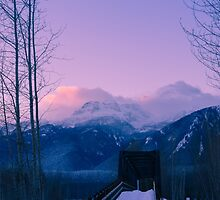 Winter Dawn by RevelstokeImage