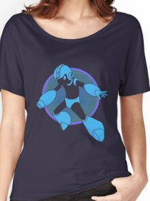 Retro Blue Hero Women's Relaxed Fit T-Shirt
