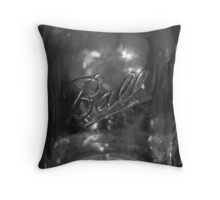 Wide Mouth Throw Pillow