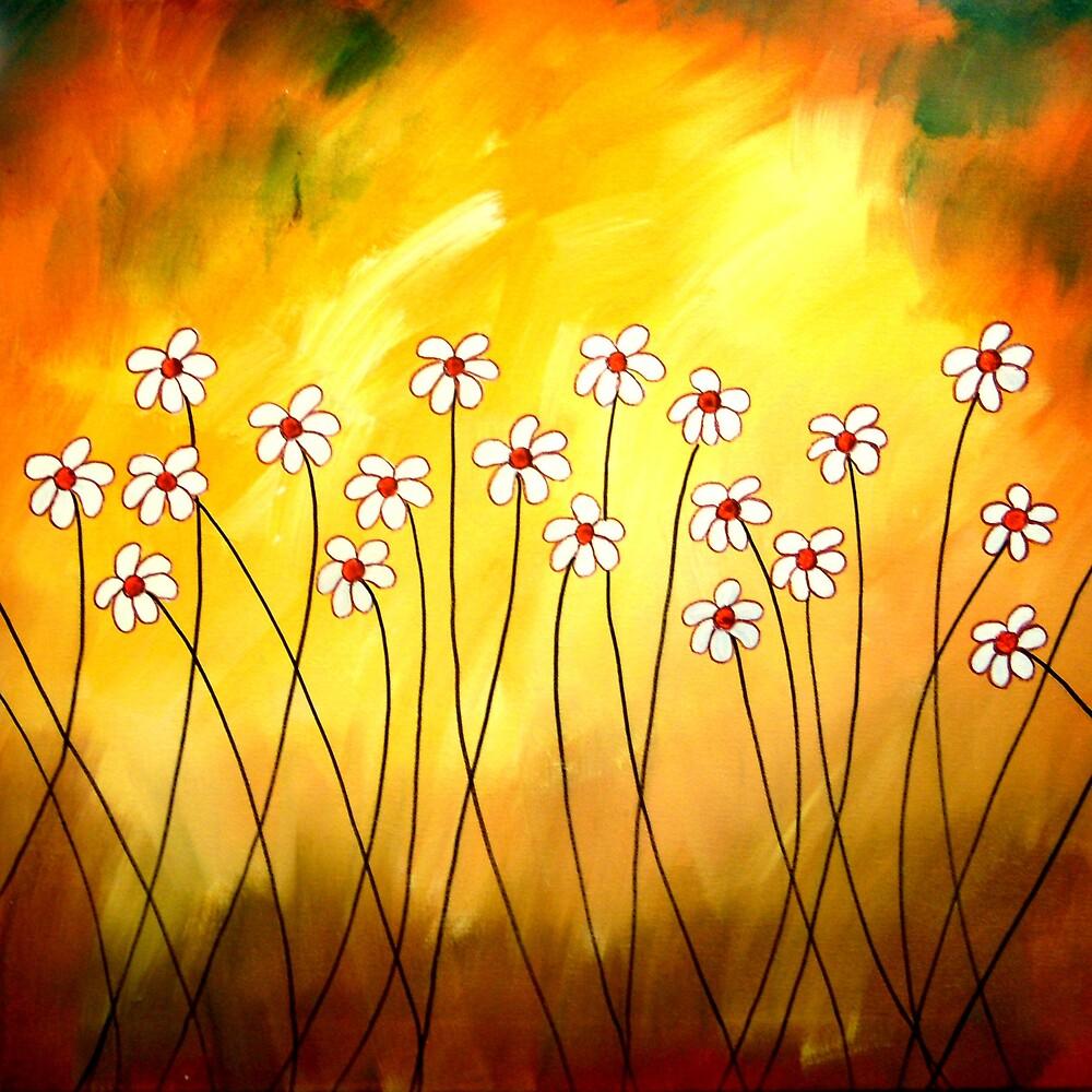 Dynamic Daisies by Peggy Garr