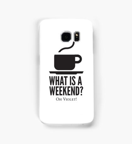 Weekend in Downton Abbey Samsung Galaxy Case/Skin