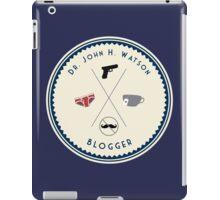 John Watson - Blogger iPad Case/Skin