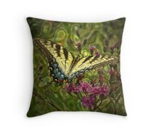 Colors of the World (altered) Throw Pillow