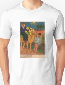 An Old Lanzarote couple. T-Shirt