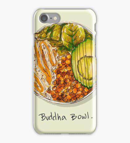 Buddha bowl iPhone Case/Skin
