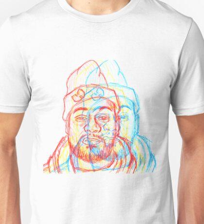 Ghostface TriColor Unisex T-Shirt