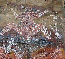 Aboriginal Rock Art by anthony1957