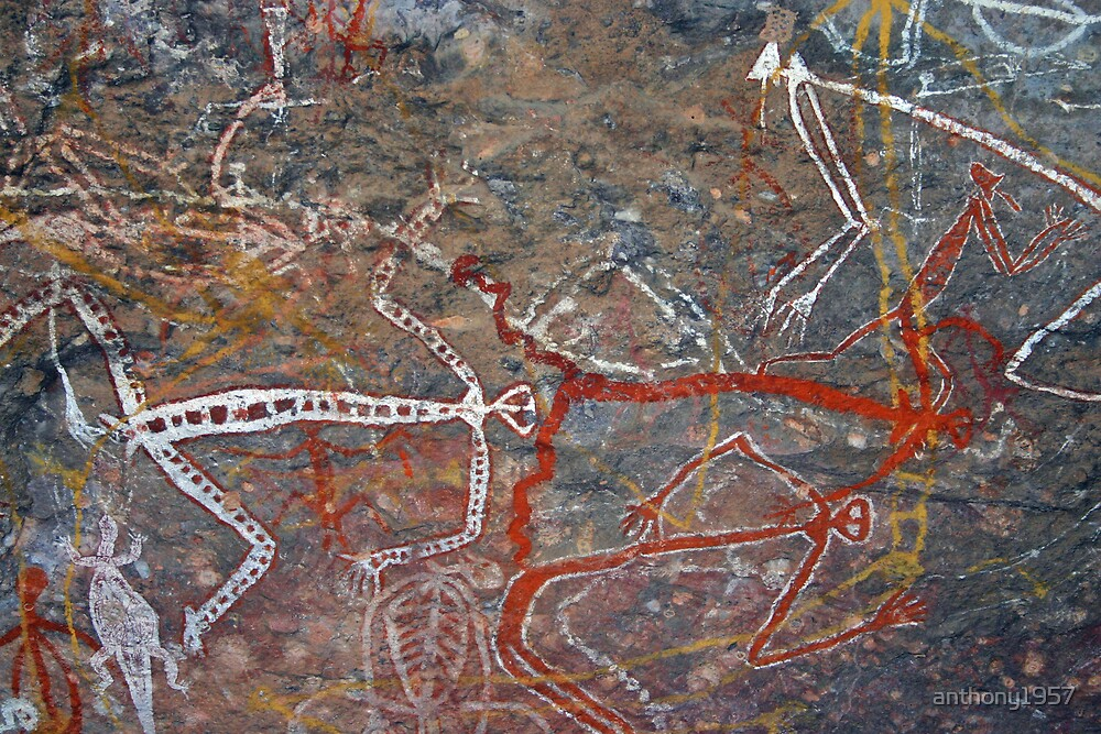Aboriginal Rock Art by anthony1957