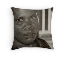 War victim Southern Congo II Throw Pillow