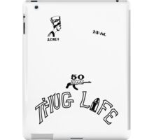 2pac's Tattoos iPad Case/Skin