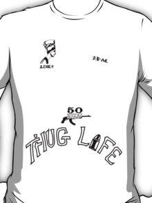 2pac's Tattoos T-Shirt