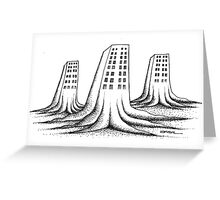 Apartment house Greeting Card