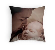 A Daddy Daughter Moment Throw Pillow