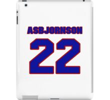 National baseball player Casper Asbjornson jersey 22 iPad Case/Skin