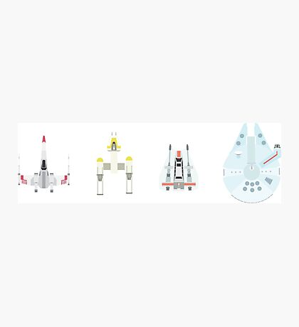 space ships Photographic Print