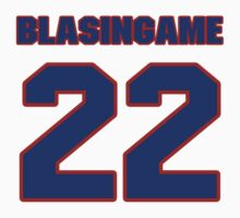 National baseball player Wade Blasingame jersey 22 by imsport