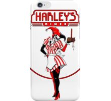 Eat at harleys  iPhone Case/Skin