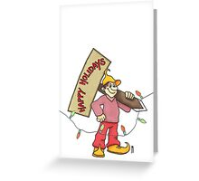 Sign Greeting Card