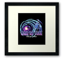 Retro Who Framed Print