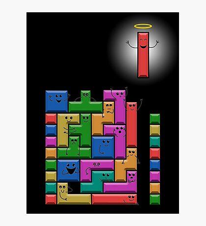 Tetris Excitement Photographic Print