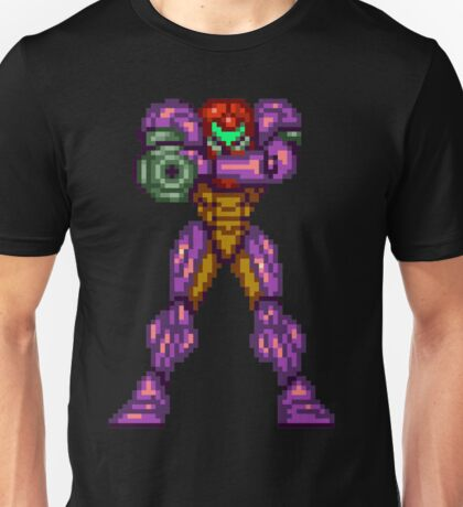 Samus Aran Ready To Blast Away Unisex T-Shirt