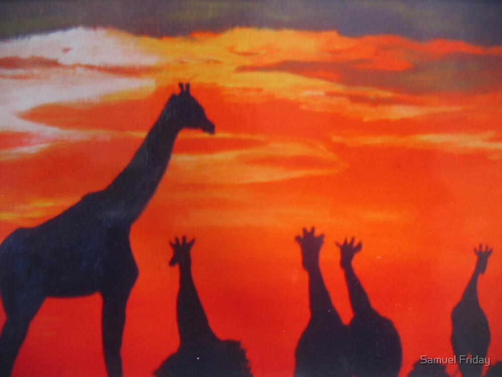 African sky II by Samuel Friday