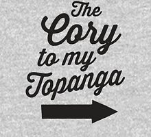 The Cory To My Topanga | Boy Meets World Quote Shirt Womens Fitted T-Shirt