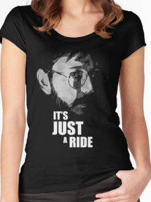 "Bill Hicks - ""It's Just a Ride"" Women's Fitted Scoop T-Shirt"