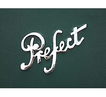 Perfect Prefect Photographic Print