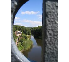 Looking through Ironbridge Photographic Print