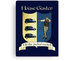 Psych House Guster Crest Canvas Print