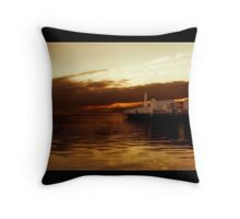 Geelong's Lightshow Throw Pillow