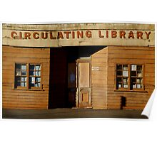 Clunes Circulating Library Poster