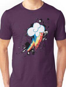 Rainbow Dash Cutie Mark Splat Unisex T-Shirt