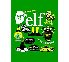 Buddy the Elf Quotes Photographic Print