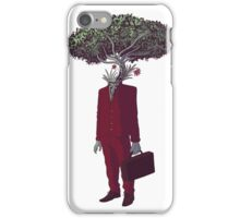 Green Business iPhone Case/Skin