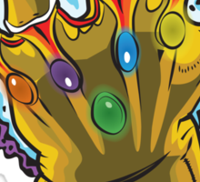 Infinity Gauntlet Sticker