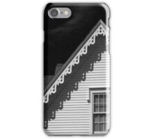 Gingerbread Shadows in Black and White iPhone Case/Skin