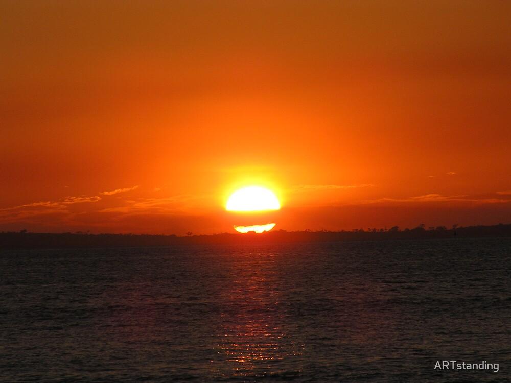 Fraser Island Sunset by ARTstanding